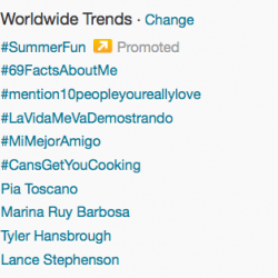 Pia Toscano Trends on Twitter After Singing The National Anthem for the LA Kings' Game 7!! 5/28