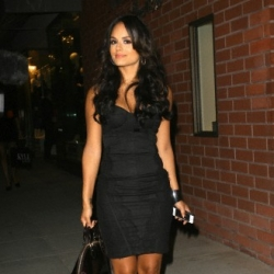 Throwback Thursday: Pia Toscano Leaving Beverly Hills LifeStyle Magazine Fall Launch Party 9.27.12