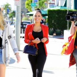 Throwback Thursday: Pia Toscano Out and About in West Hollywood 2.14.12