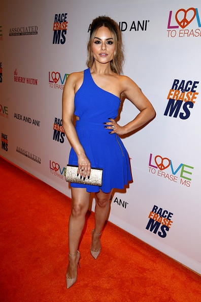 Pia Toscano Attends 24th Annual Race To Erase MS Gala #1