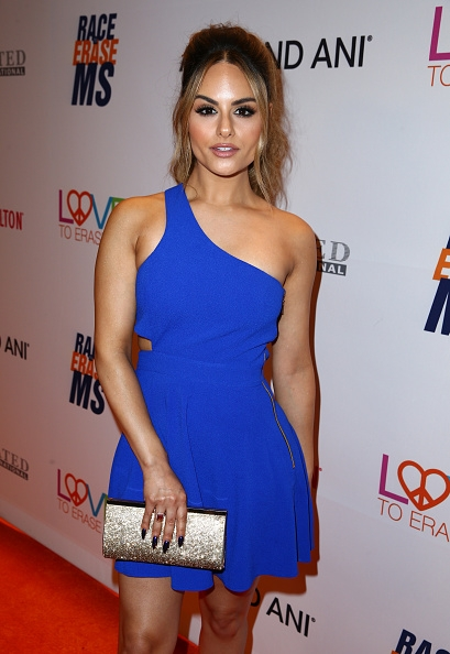 Pia Toscano Attends 24th Annual Race To Erase MS Gala #3
