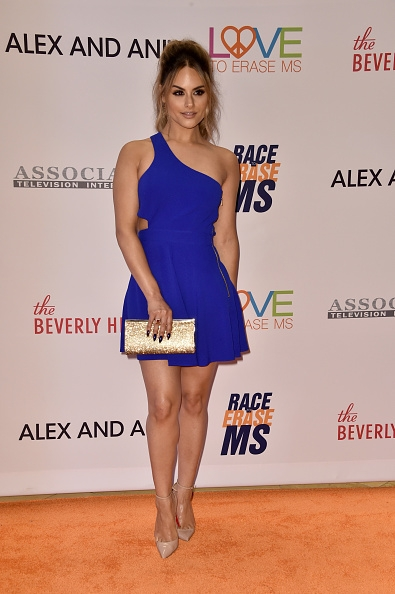 Pia Toscano Attends 24th Annual Race To Erase MS Gala #6