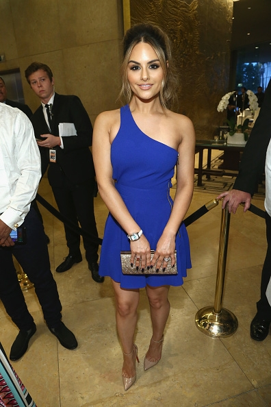 Pia Toscano Attends 24th Annual Race To Erase MS Gala #8