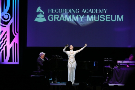 Pia Toscano At the Grammy Museum Third Annual Gala - 9/19/17 #17