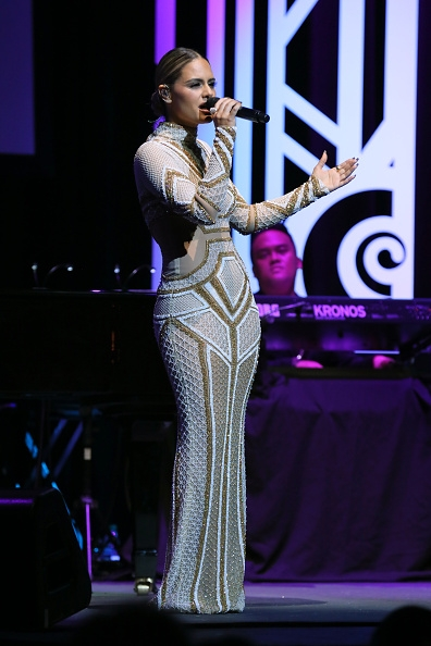 Pia Toscano At the Grammy Museum Third Annual Gala - 9/19/17 #19