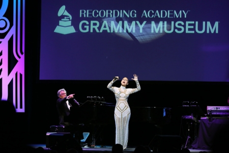 Pia Toscano At the Grammy Museum Third Annual Gala - 9/19/17 #20